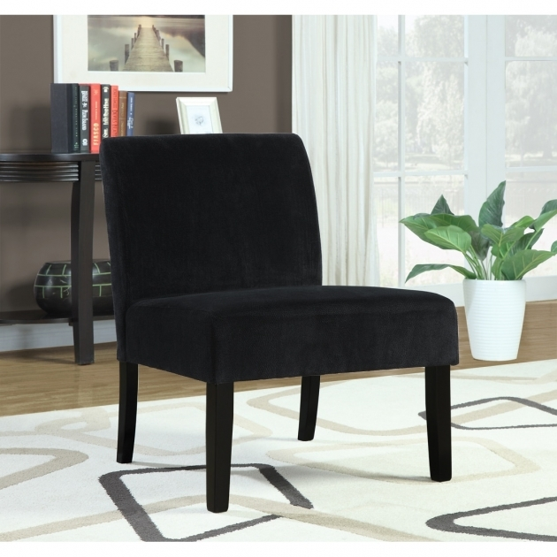 Luxurious Black Velvet Accent Chair Pics
