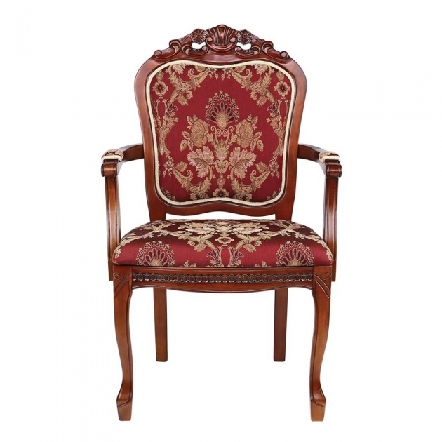 Luxurious Burgundy Accent Chair Images
