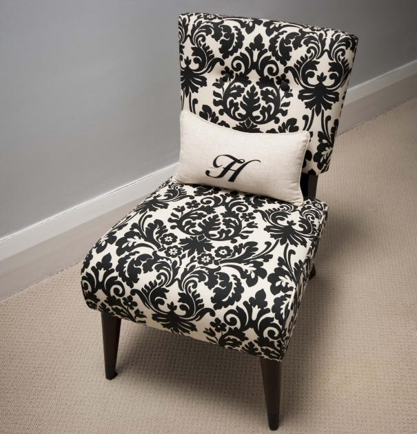 Luxurious Damask Accent Chair Photos