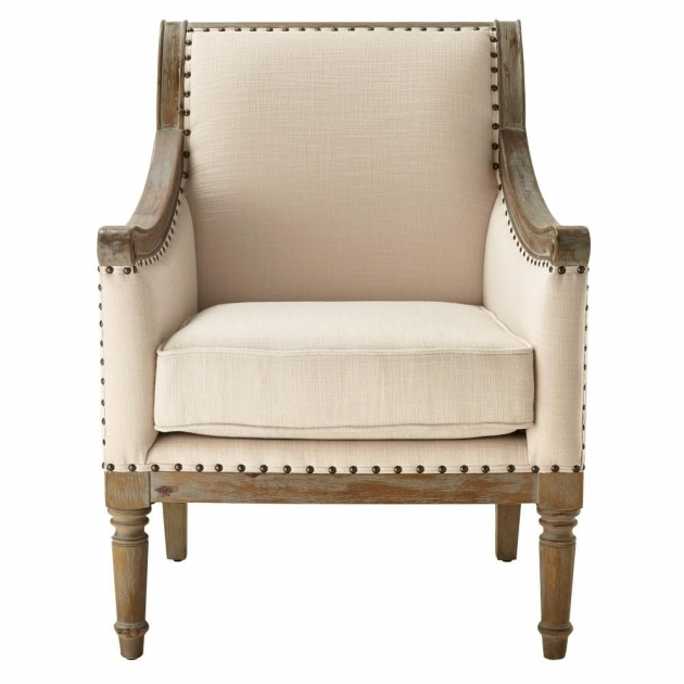 Luxurious Upholstered Accent Chairs With Arms Photo