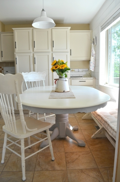 Luxury Chalk Paint Kitchen Table And Chairs Photo