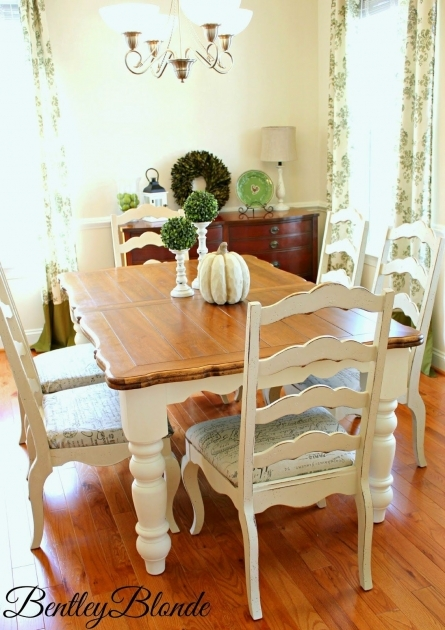 Luxury Chalk Paint Kitchen Table And Chairs Pics