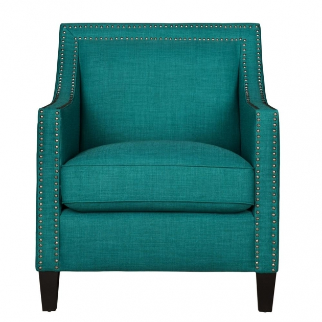 Luxury Green Accent Chair With Arms Images