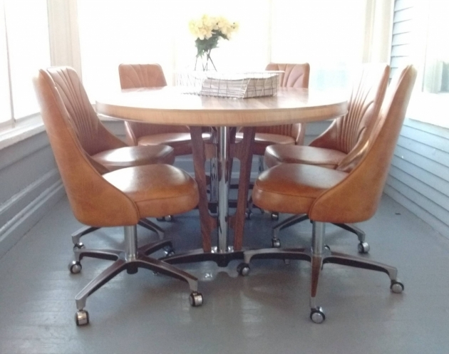 Luxury Kitchen Chairs On Casters Images