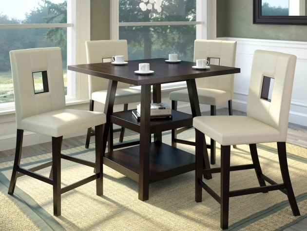 Luxury Kitchen Table And Chairs With Wheels Image