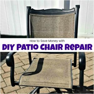 Repair Patio Chairs