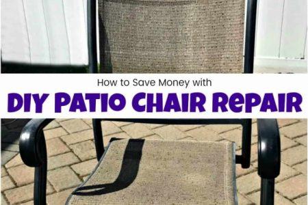 Repair Patio Chairs