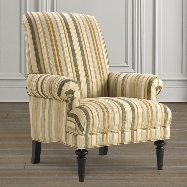 Luxury Striped Accent Chairs Image