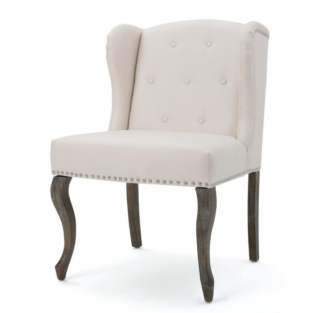 Luxury Studded Accent Chair Picture