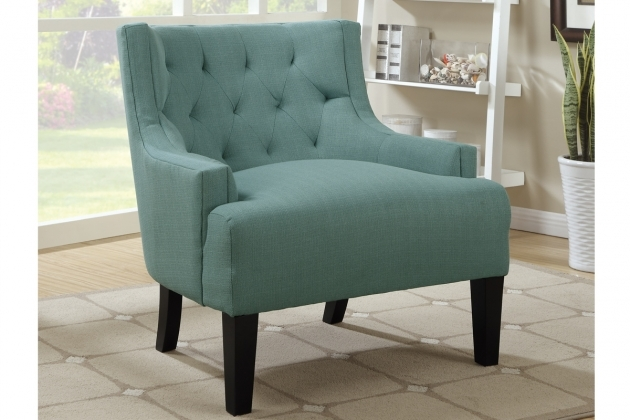 Luxury Teal Blue Accent Chair Images