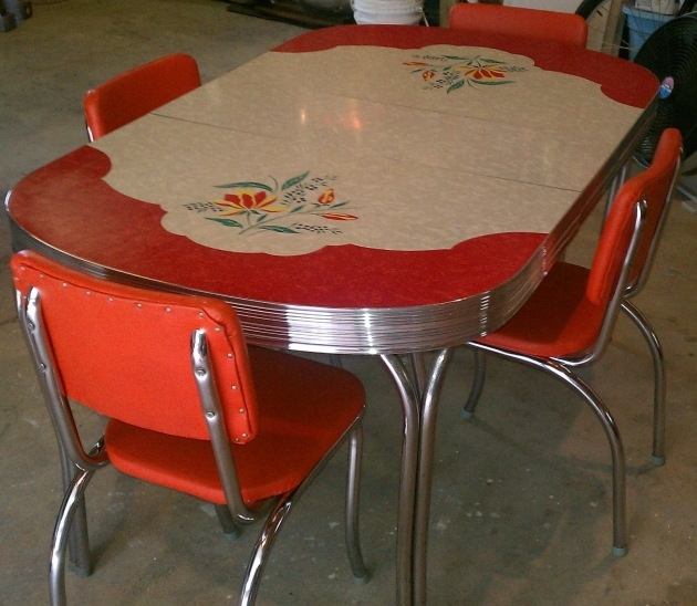Marvelous 1950S Formica Kitchen Table And Chairs Pictures