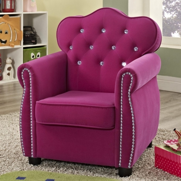 Marvelous Hot Pink Accent Chair Image