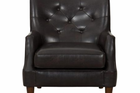 Leather Accent Chairs With Arms