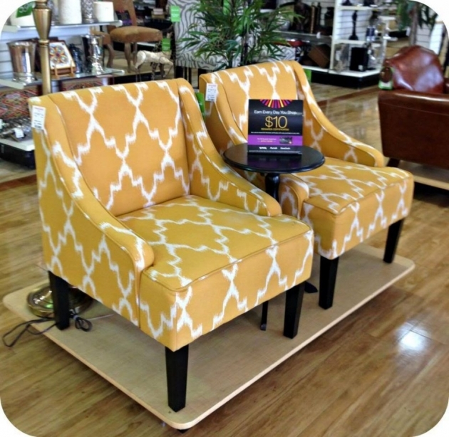 Marvelous Mustard Yellow Accent Chair Image