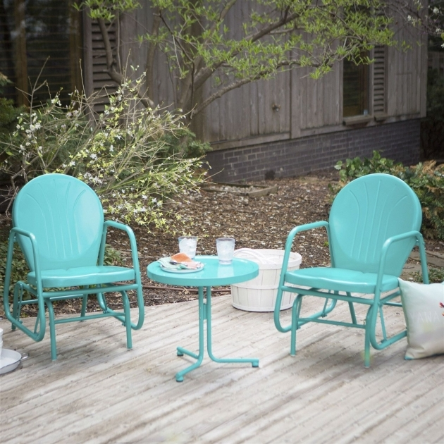 Marvelous Turquoise Patio Chairs Image