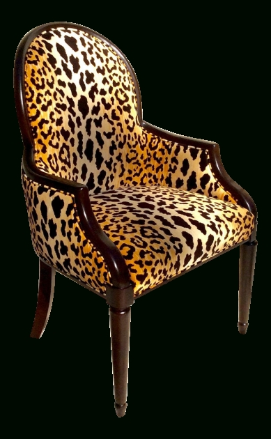 Mesmerizing Animal Print Accent Chairs Image