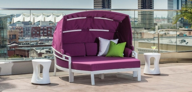 Mesmerizing Purple Patio Chairs Image
