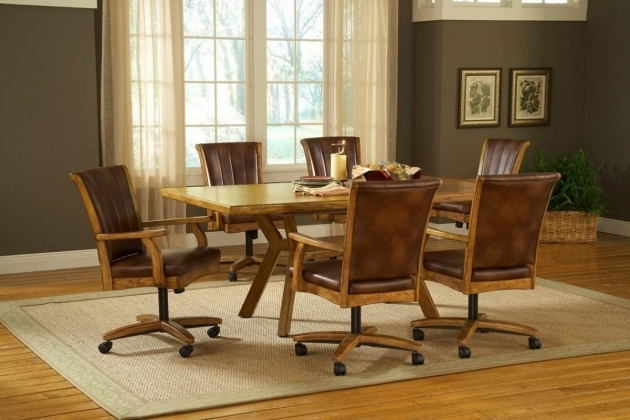 Most Inspiring Kitchen Chairs On Casters Photos