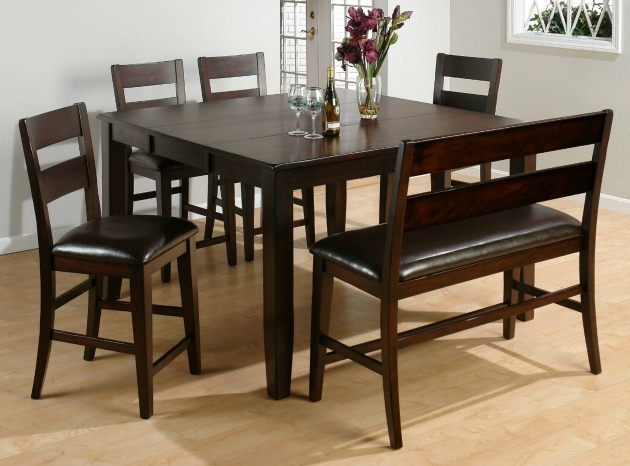 Most Inspiring Kitchen Table With Bench Seating And Chairs Photo