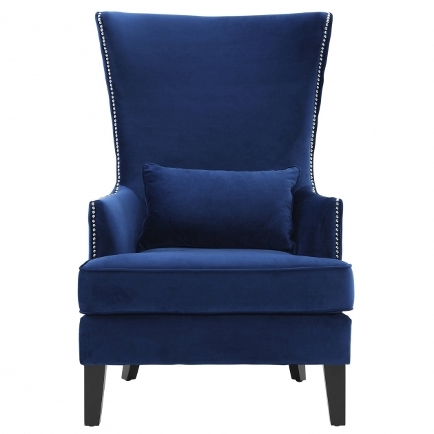 Most Inspiring Navy Blue Accent Chairs Pic