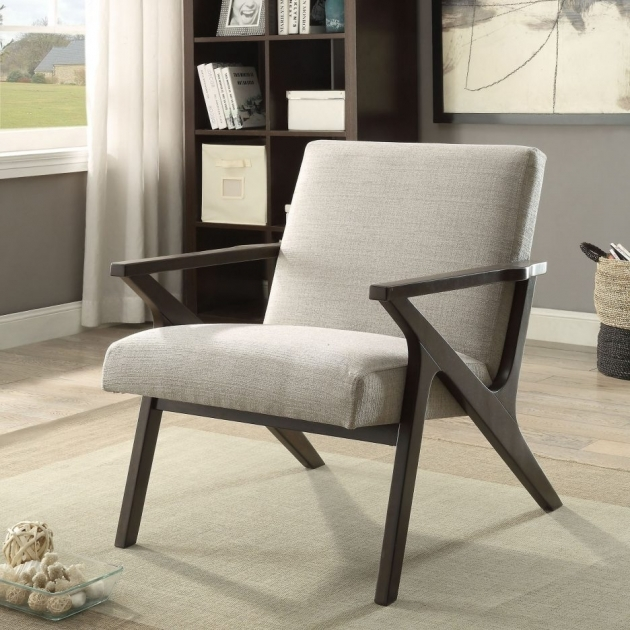 Most Inspiring Wood Leg White Accent Chairs Pictures