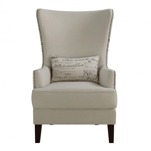 Nice Accent Chair With Writing On It Pictures