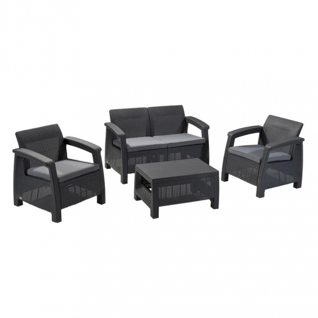 Nice Black Resin Patio Chairs Pictures