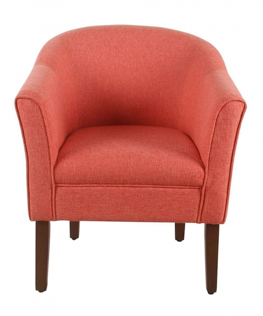Nice Coral Accent Chair Pic