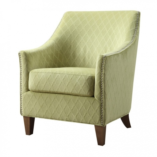 Nice Green Accent Chair With Arms Pictures
