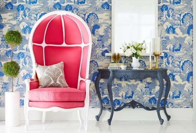 Nice Hot Pink Accent Chair Images