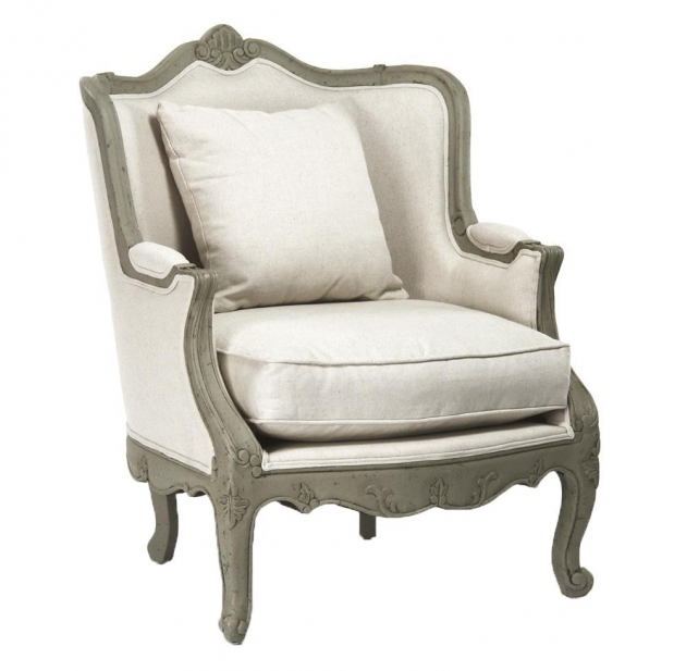 Nice Off White Accent Chair Images