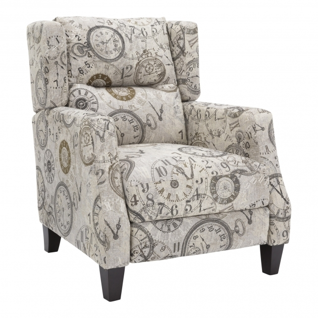 Nice Reclining Accent Chair Image