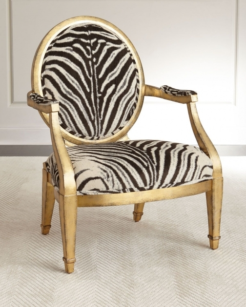 Outstanding Animal Print Accent Chairs Photo