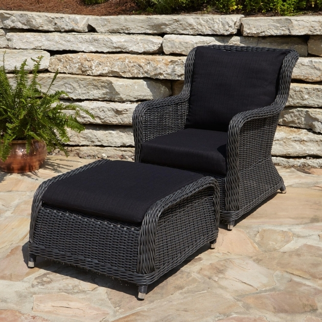 Outstanding Black Resin Patio Chairs Pictures