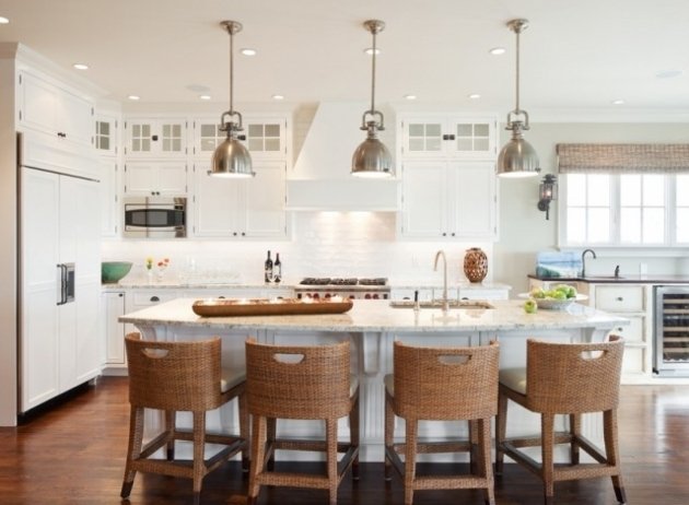 Outstanding Kitchen Island Chairs With Backs Image