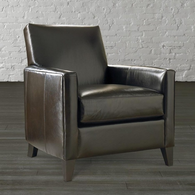 Outstanding Leather Accent Chairs With Arms Pic