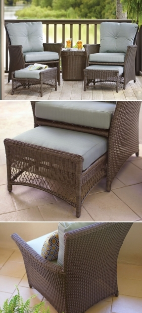 Outstanding Patio Chairs With Ottomans Ideas