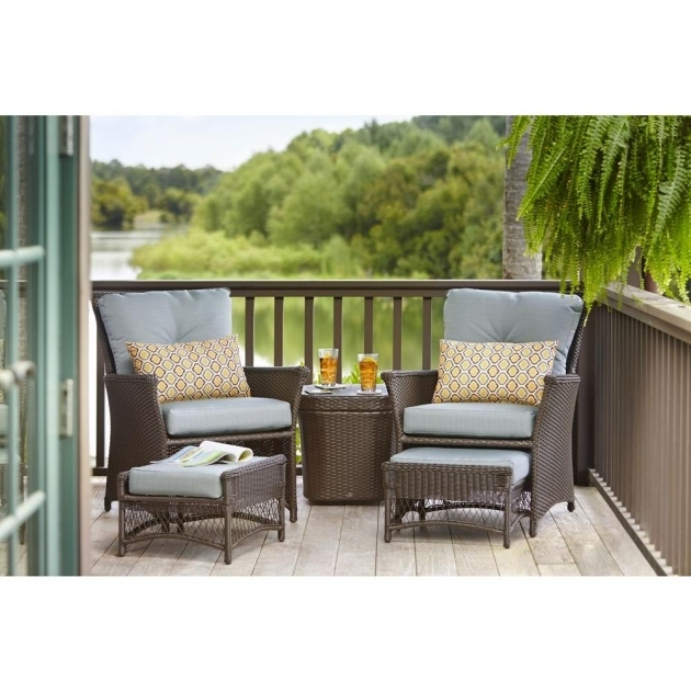 Outstanding Patio Chairs With Ottomans Pics