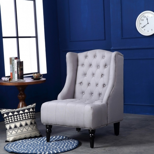 Outstanding Tall Back Accent Chairs Photos