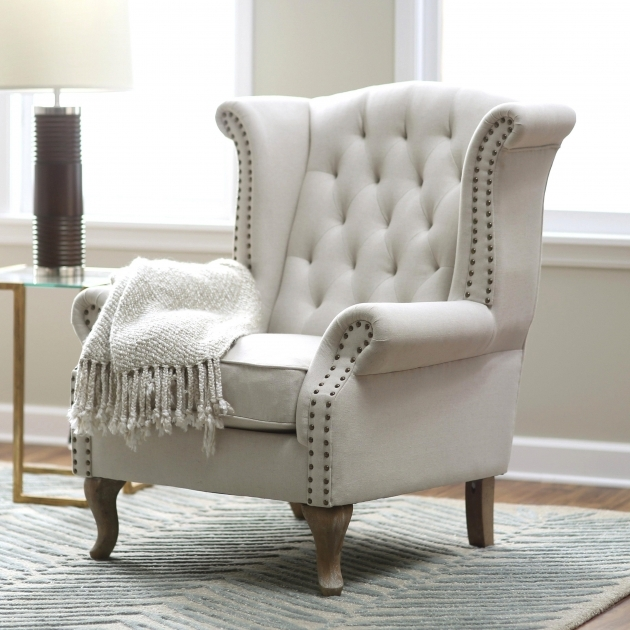Outstanding Upholstered Accent Chairs With Arms Image