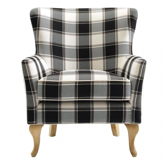 Popular Accent Chairs Black And White Pic