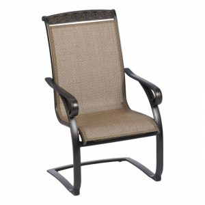 C Spring Patio Chairs