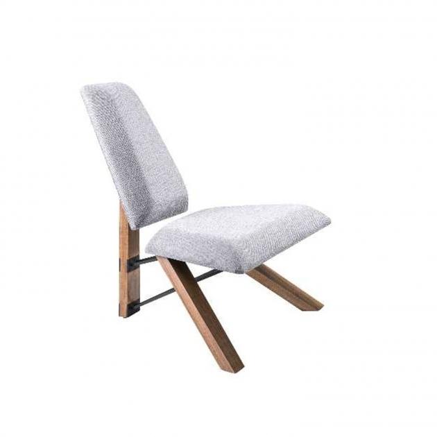 Popular Light Grey Accent Chair Photo