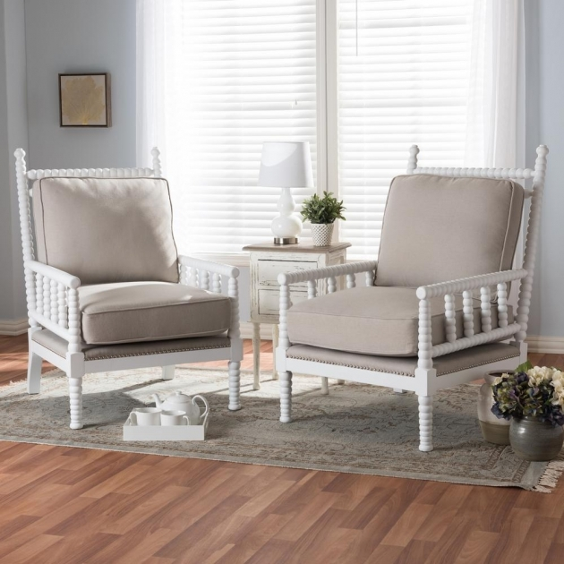 Popular Wood Frame Accent Chairs Picture