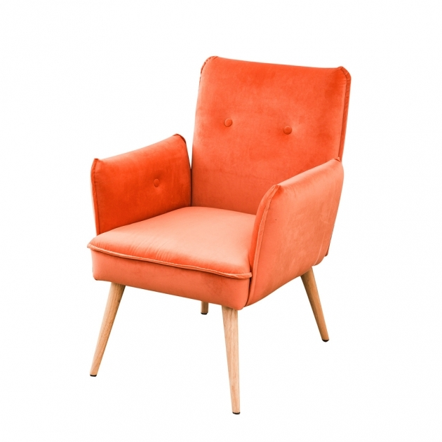 Remarkable Coral Accent Chair Image