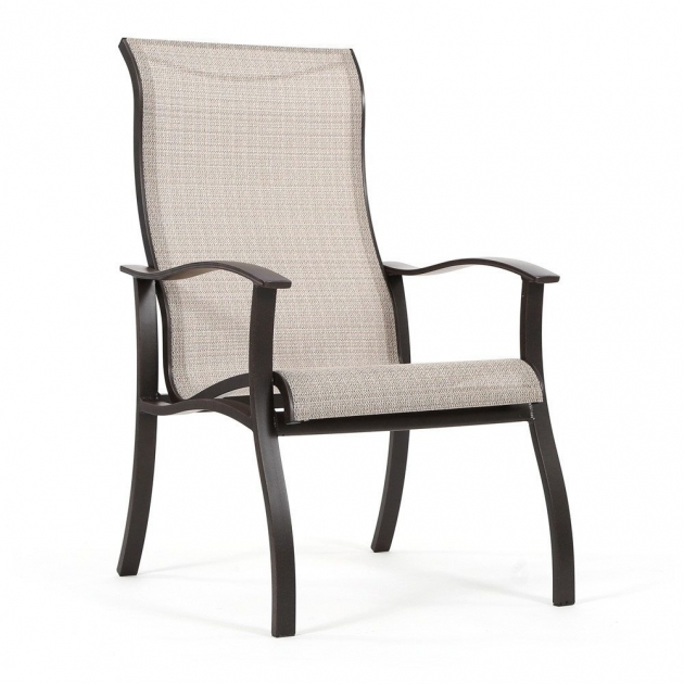 Remarkable High Back Plastic Patio Chairs Image
