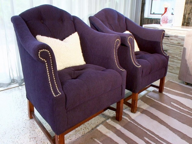 Remarkable Purple Accent Chairs Living Room Image