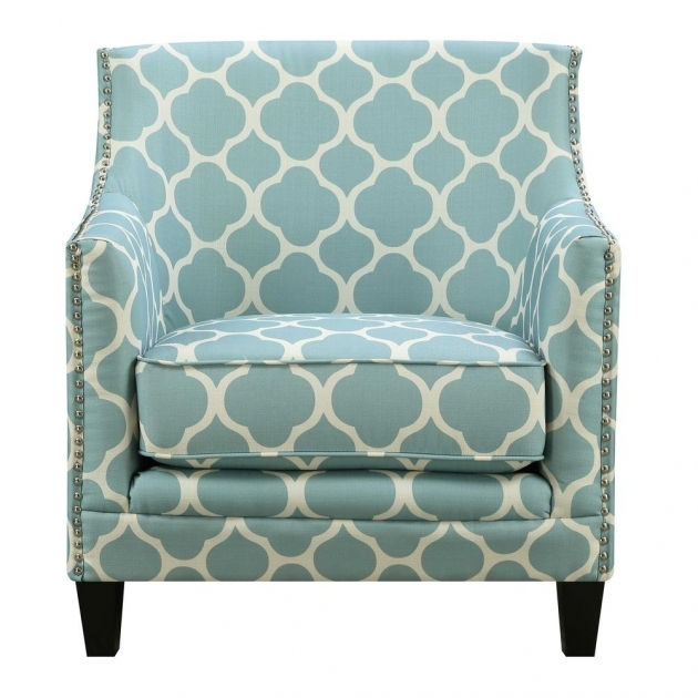Splendid Aqua Accent Chair Picture