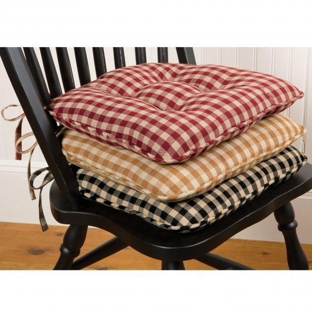 Splendid Country Kitchen Chair Cushions Photo