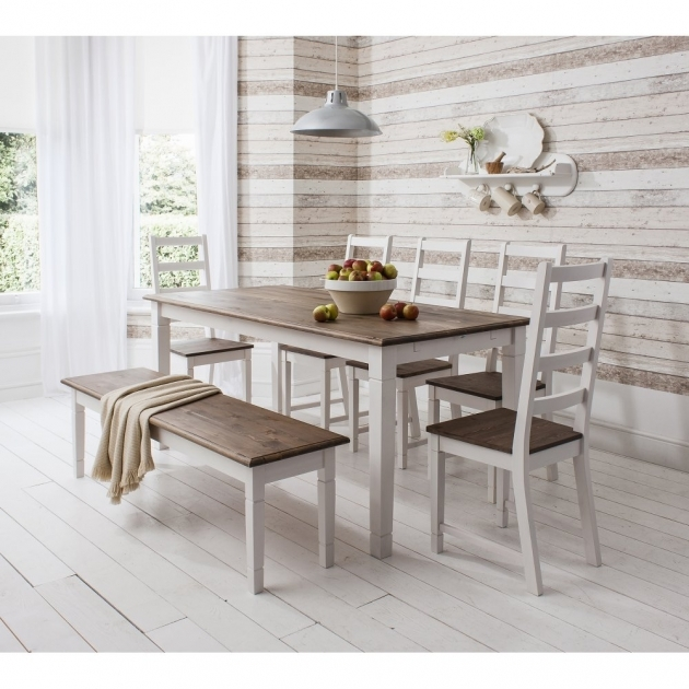 Splendid Kitchen Table With Bench Seating And Chairs Pictures